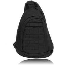 Waterproof Large Sling Single Shoulder Bag Backpack Gear Pack One Strap Heavy Duty Chest Pack