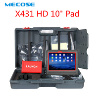 LAUNCH X431 HD Heavy Duty Truck Diagnostics tool 10.1 Android ScanPad multimeters analyzers car scanner for repairing Truck