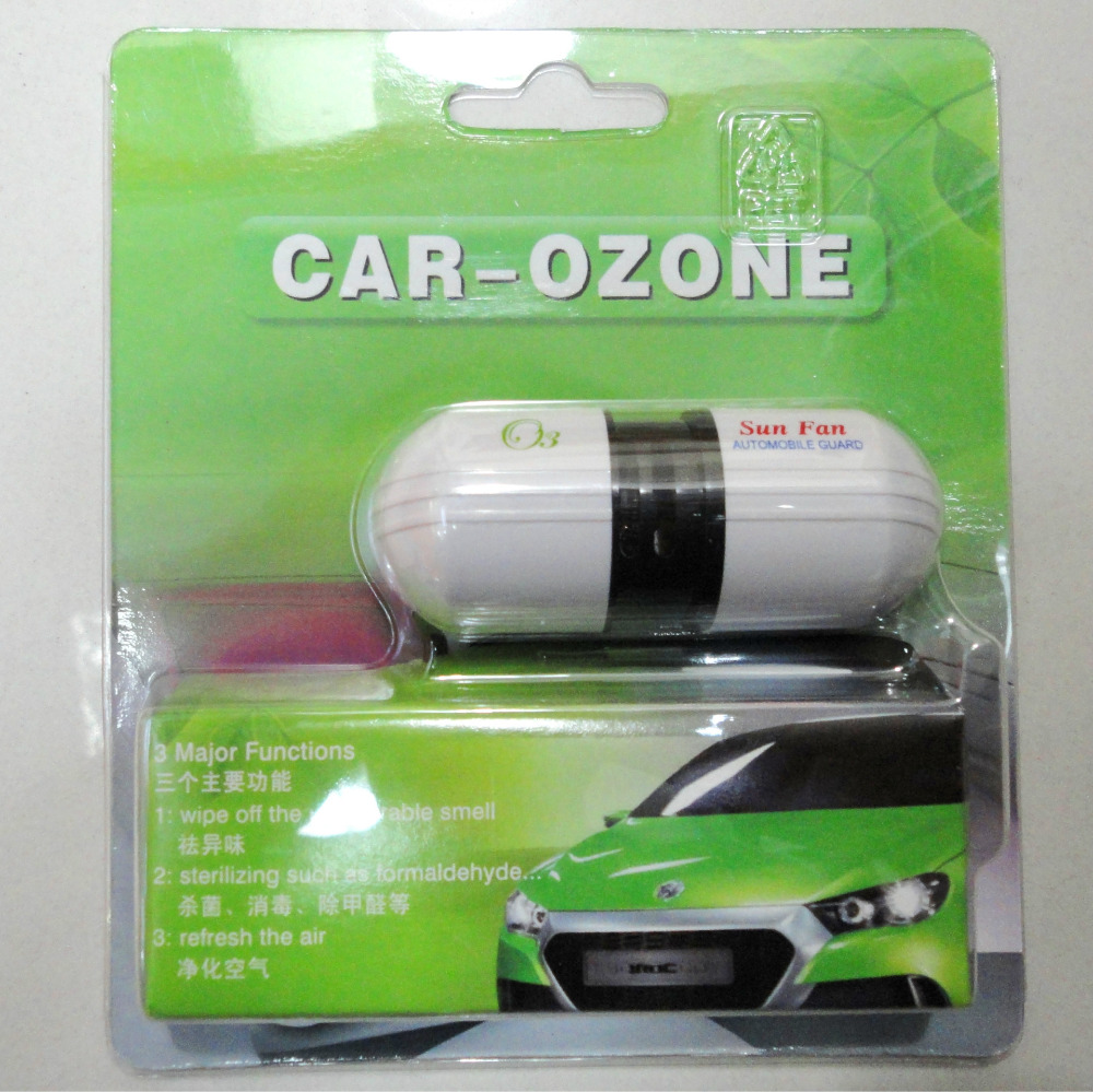Car Air Purifier  Car Ionizer Ozone Car Air Freshener Oxygen Bar With Retail Packing Air Vent