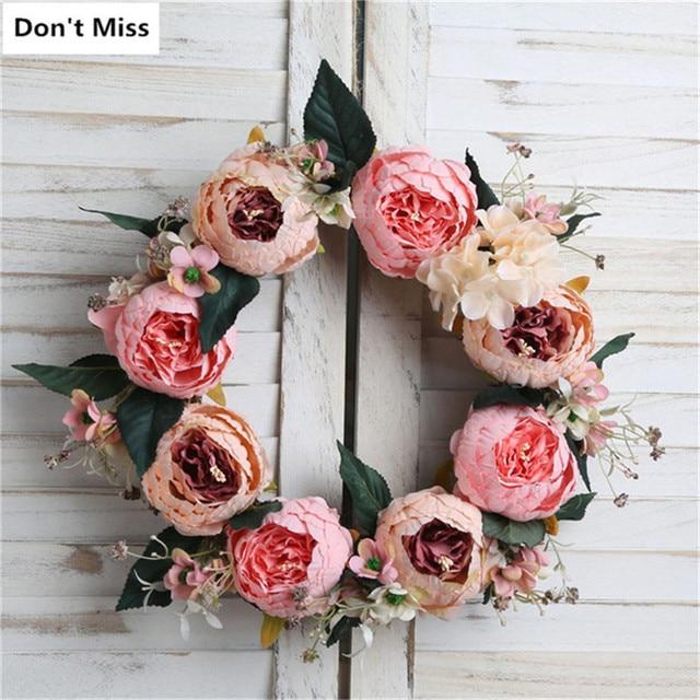 Xmas Wreath Party Decoration Valentine Day Birthday Gift Autumn