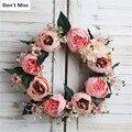 Xmas Wreath Party Decoration Valentine Day Birthday Gift Autumn Wreath Easter Decoracive Christmas Door Wreath Garland Kransen
