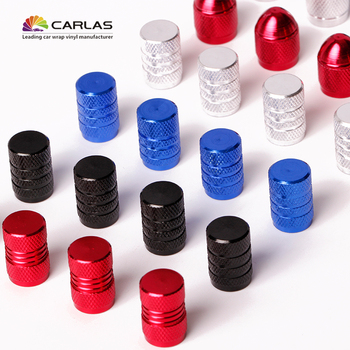 4PCS/Set General Purpose Car-Styling Wheel Caps Case Car Tires Valves Tyre Air Caps Airtight Cover image