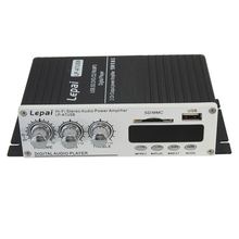 NEW USB Mini Car Power Amplifier USB SD DVD CD FM MP3 With Remote Controller