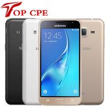 J320 разблокирована Samsung Galaxy J3 (2016) 8 ГБ LTE Android мобильного сотовые телефоны Оригинальный GSM 4 г GPS смартфон 8MP Quad Core