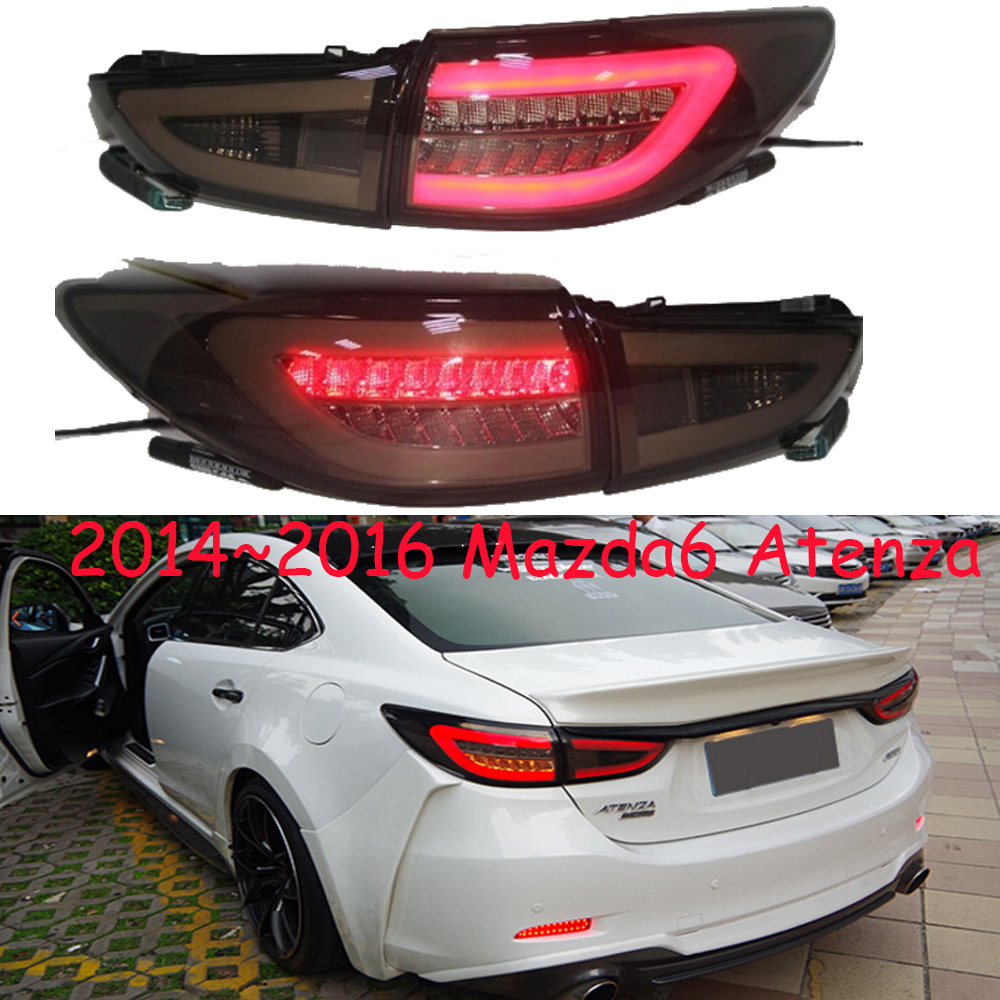 one set 4pcs Sedan car use for <font><b>mazda</b></font> <font><b>6</b></font> Mazda6 atenza taillight 2014~2016y car accessories atenza rear <font><b>light</b></font> for Mazda6 rear lamp image
