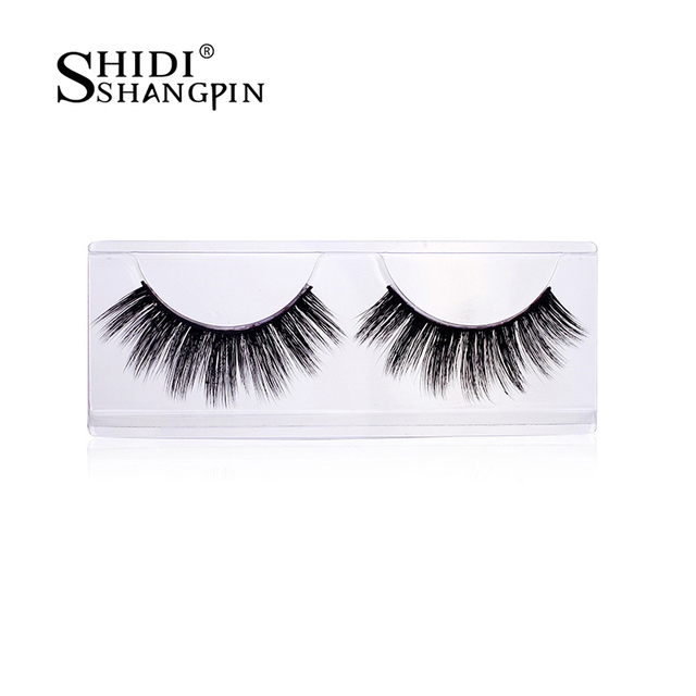 0e33c94111b 3 Pairs Thick Mink False Eye Lashes Party Handmade Natural Perfect Long  Women Lashes Artificial Faux Cils Extension Kit