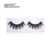 3 Pairs Thick Mink False Eye Lashes Party Handmade Natural Perfect Long Women Lashes Artificial Faux Cils Extension Kit