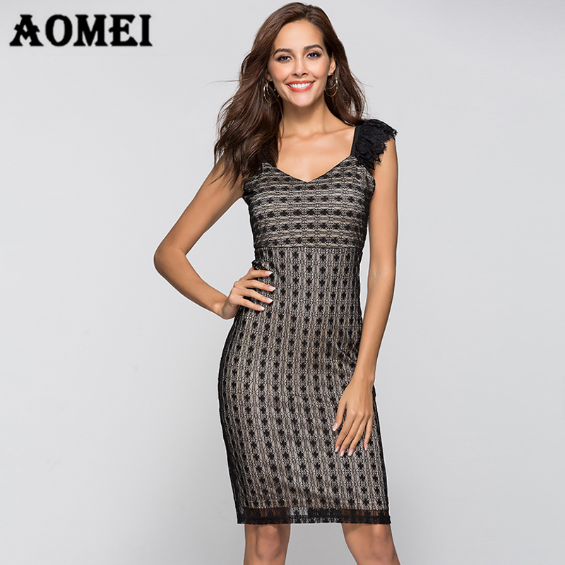 Women Sun Dress Black Lace Summer New Tight Bandage Dresses Evening Party  Sexy Dresses Club Wear Nightout Female Vestidos Robes-in Dresses from  Women s ... 04c64702bc83