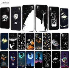 Lavaza Newest Space Moon Astronaut Soft Phone Case for Huawei Mate 10 20 P10 P20 P30 Lite Pro P Smart 2019 TPU Cover