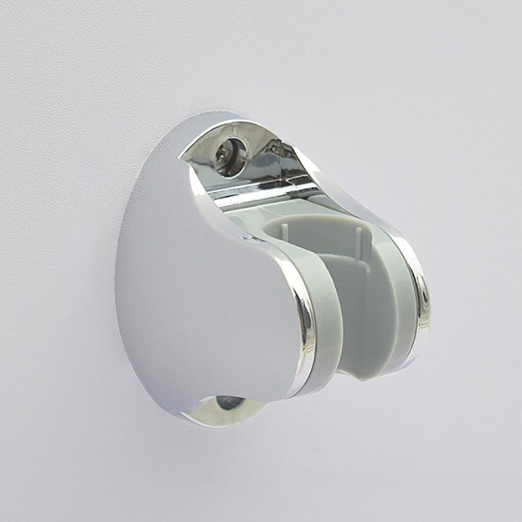 Dusche Kopf Hörer Halter Chrom Bad Wand Halterung Einstellbare Saug Halterung Hause Bathroon Edelstahl Dusche Kopf L2 GüNstige VerkäUfe