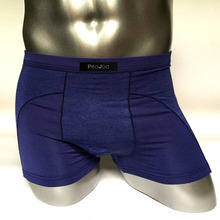 PEAJOA Brand New Mens Cotton Boxers Underwear Sexy Patchwork Male shorts Underpants Mid waist Panties Man