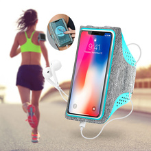 Naturehike Water Resistant Cell Phone Sports Armband with Card/Key Holder for 5 in/6 in Phone, Bundle Screen Protector
