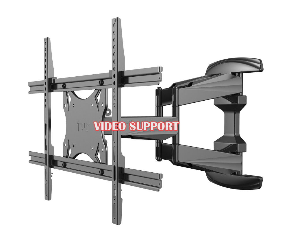 Loctek Plasma Flat Retractable Lcd Bracket Tv Mount Wall