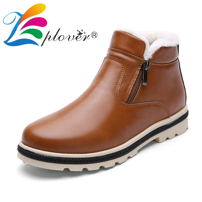 Zplover/бренд Newst удерживающие тепло зимние сапоги Мужская обувь Замшевые сапоги с Мех черный Рабочая Для мужчин модные Сапоги и ботинки для де…