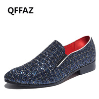 Luxury men shoes PU leather men's casual shoes Handmade luxurious comfortable breathable spring fashion men loafers