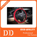 Car styling New arrivals lady personalized dragon grain knitted fabric Car steering wheel cover accessories Car styling