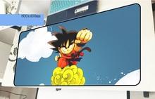 Dragon Ball геймерский коврик для мыши locrkand 800x400x2 мм игровой коврик для мыши милые тетрадь pc интимные аксессуары ноутбука padmouse эргономичный коврик