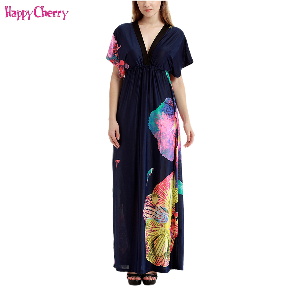 Maternity Sexy Deep V Neck Lace Long Maxi Dress Beach Dress Pregnant Women Boho Floral Printed Casual Tunic Ankle-Length Dresses viven leigh boho floral print long dress retro bohemian maxi dress sexy ethnic deep v neck beach dresses hippie robe