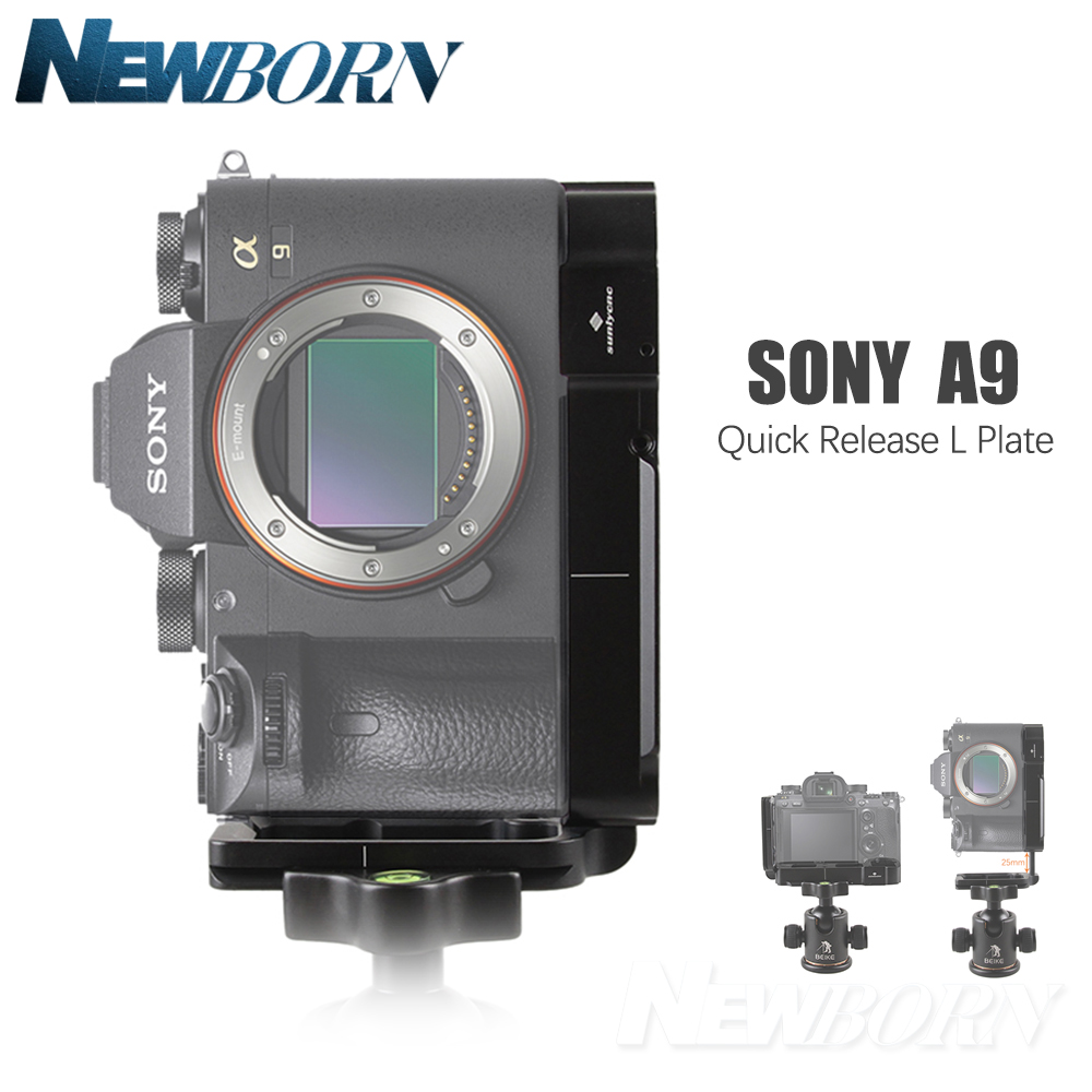 A9 Quick Release L Plate Bracket Holder hand Grip for Sony a9 A7MIII A7RIII A7R3 A7M3