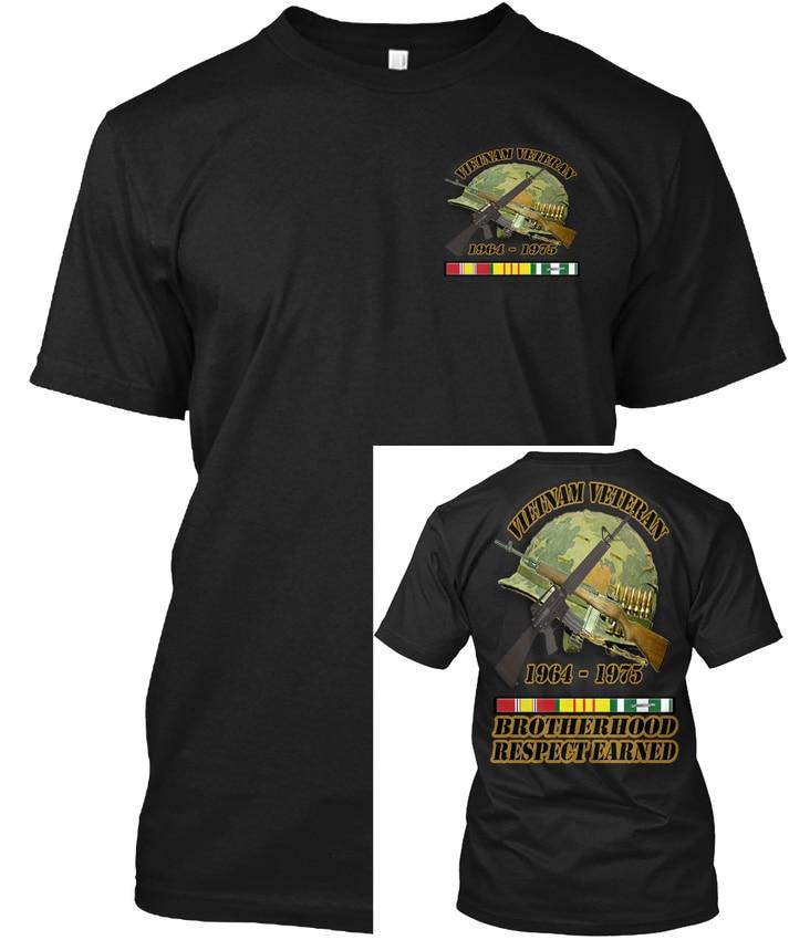 Vietnam Veteran Brotherhood Collection1 - 1964-1975 Popular Tagless Tee T-Shirt