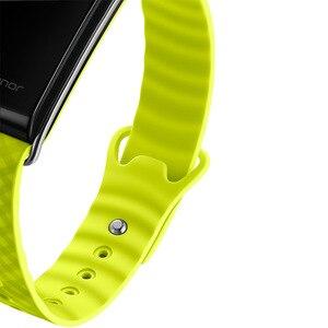 Image 5 - Onur renk bant A2 akıllı bileklik spor bilezik Band IP67 OLED mesaj kalp hızı saat su geçirmez aktivite izci