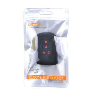 Image 5 - Voor Toyota Sienta Alphard Voxy Noah Esquire Harrier Siliconen Remote Key Case Fob Shell Cover Skin 4 Knop 2015   2018 2019