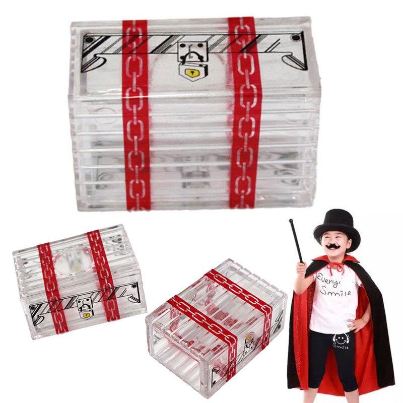 Прозрачные магические трюки Prop Box шутки дети взрослые забавные игрушки