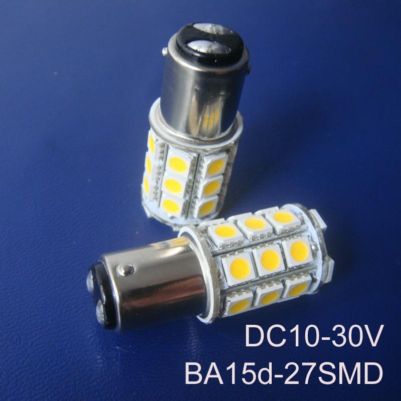 High quality 12/24VAC/DC 5W BA15D led Warning Signal Light Bulbs 1142 24V led Yacht Ship Boat lamp Bulbs free shipping 20pcs/lot