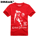 2016 Summer Cavalierse Kyrie Irving Short-sleeved T-shirt custom bodybuilding jersey college jersey bodybuilding t shirt