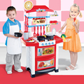 Kids Kitchen Toys Beauty Kitchen Cooking Toy Play sets for Children and parents