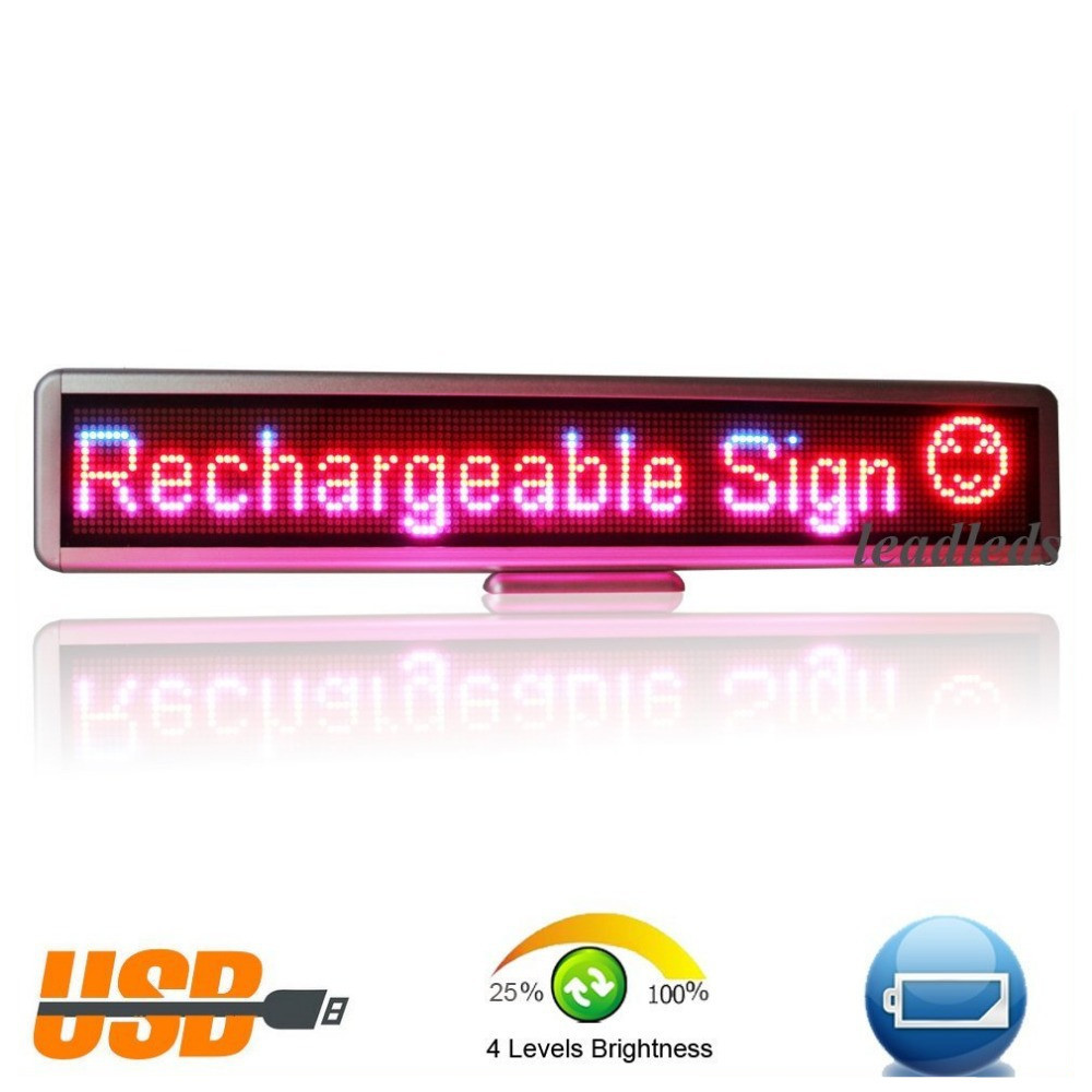 indoor led sign