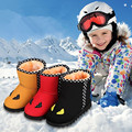 2016 children's snow boots winter new cotton children's cotton shoes waterproof warm sports shoes