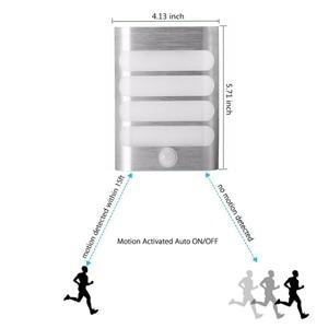 Image 5 - USB Rechargeable Sensor Night Light Wireless PIR Motion Sensor Light Wall Light Lamp Auto On/Off For Hallway Pathway Staircase