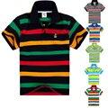 Высочайшее качество дети летняя одежда мальчиков футболка с коротким рукавом 2016 новый мода хлопок одежда для 7 8 9 10 11 12 13 14 лет