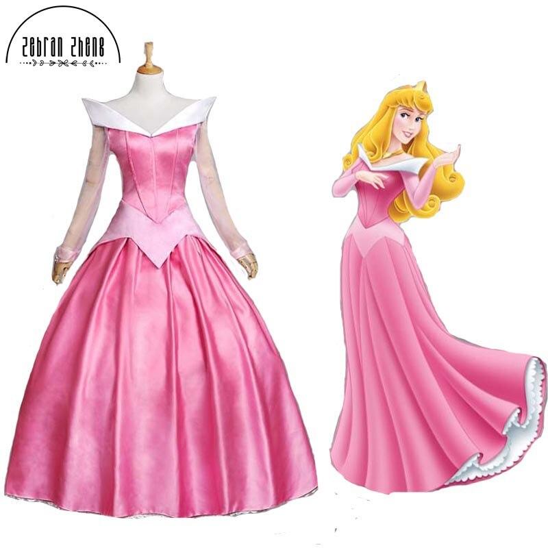Sleeping Beauty Ladies Women/'s Girls Costume Aurora Princess Dress Cosplay Party
