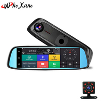 WHEXUNE 8 inch Android 5.1 GPS 4G Special Mirror Car DVR Camera DVRs Automobile Video Recorder Rearview Mirror Camera Dash Cam