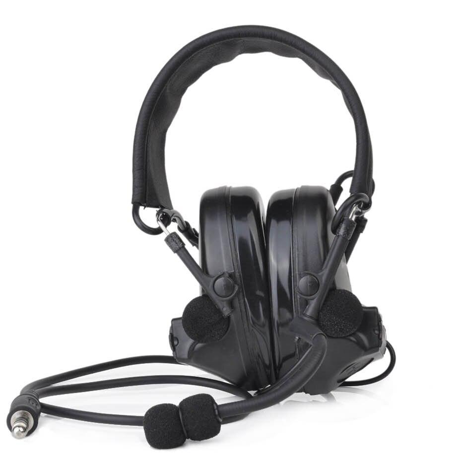 Hunting Headset Element Z Tactical Aviation headphone Comtac II Headset Peltor Noise Canceling Z041