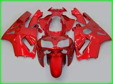 Kit de carénage moulage par Injection pour Kawasaki ZX12R 02 03 04 carénages rouge vin ZX12R 2002 2003 2004 (+ couvercle de réservoir) TY09