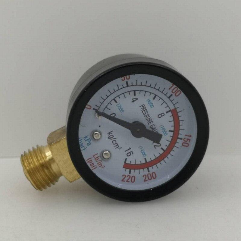 Vacuum Manometer Mini Dial Air Vacuum Pressure Gauge M14X1.5 Can Be Used For Pressure Reducing Valves