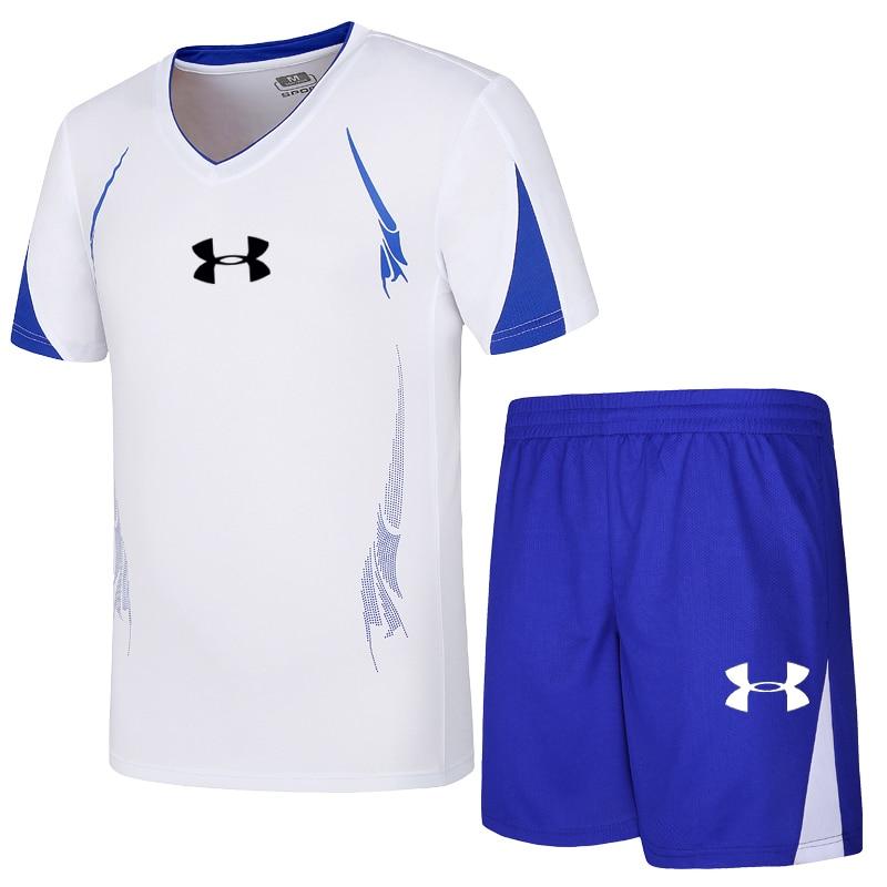 Nouveauté Under Armour hommes entraînements en plein air costumes d'été à séchage rapide vêtements de sport vêtements de sport respirant
