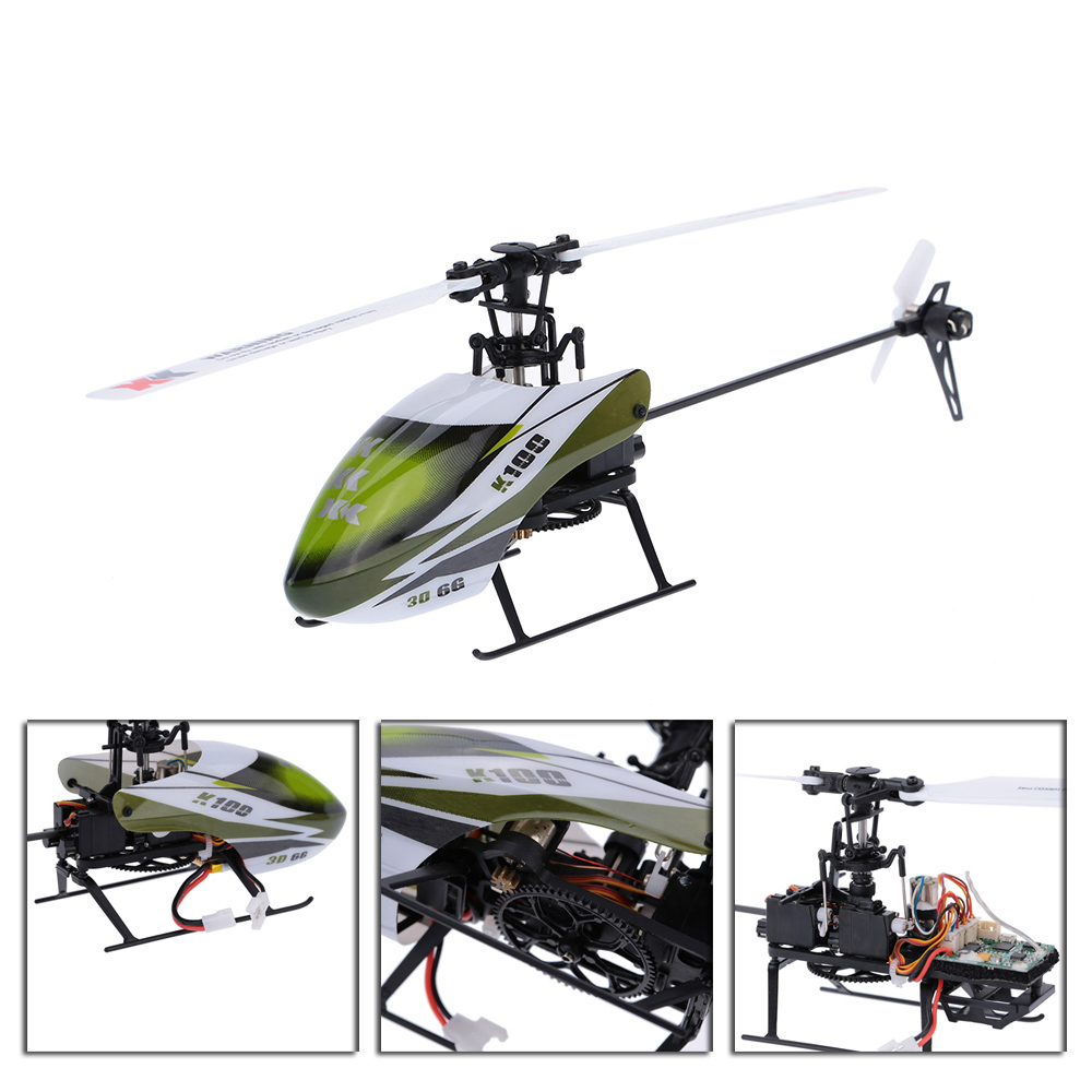 Falcon K100-B 6CH 3D 6G System BNF RC Helicopter Remote Control Aircraft Plane Electronic Flying Toys Clearance Sales (6)