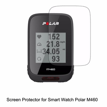 3* Clear LCD PET Film Anti-Scratch Screen Protector Cover for Polar M460 GPS Accessories фото