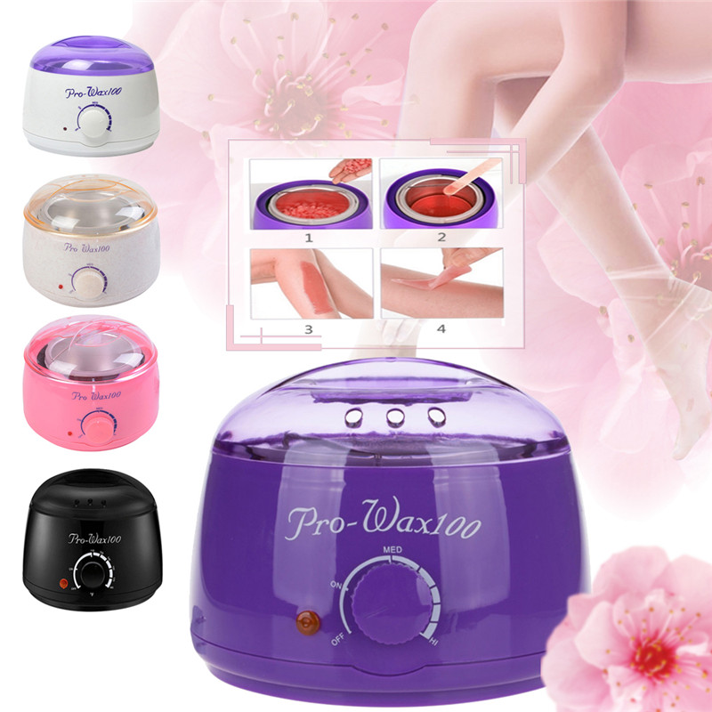 New Hair Removal Machine Electric Depilatory Waxing Painless Hair Removal Wax Heater Machine Hard Hot Wax Warmer Melter Heater