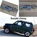 2017 Мода Цинковый Сплав Металла Автомобилей Брелок для Suzuki JimnyKey Кольцо Брелок
