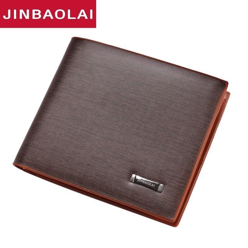 Billiger Preis Pidengbao Mens Brown Luxury High Quality Genuine Soft Leather Wallet Herren-accessoires Geldbörsen & Etuis