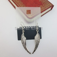 Accessories wholesale Contracted and fashionable retro delicate joker wings of jewelry Female pendant earrings