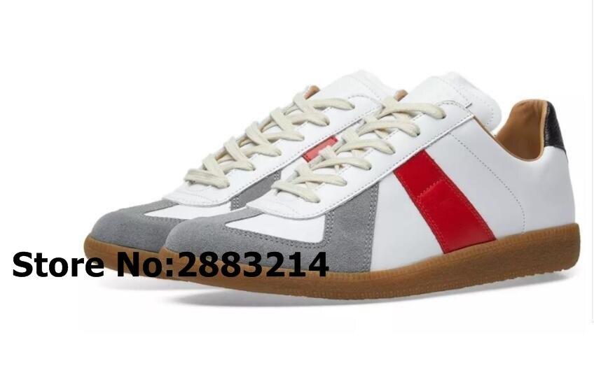 Patchwork Suede MANNEN Lage Top Sneakers Schoenen Ronde Neus Man Flats Outdoor Leisure Schoenen Ademend Trainers zapatos de hombre-in Casual schoenen voor Mannen van Schoenen op  Groep 3