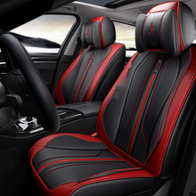 Черный, красный оранжевый сине-белые сиденье автомобиля включает подушки для 5 мест автомобили для Jeep Grand Cherokee Wrangler Commander Compass Patriot