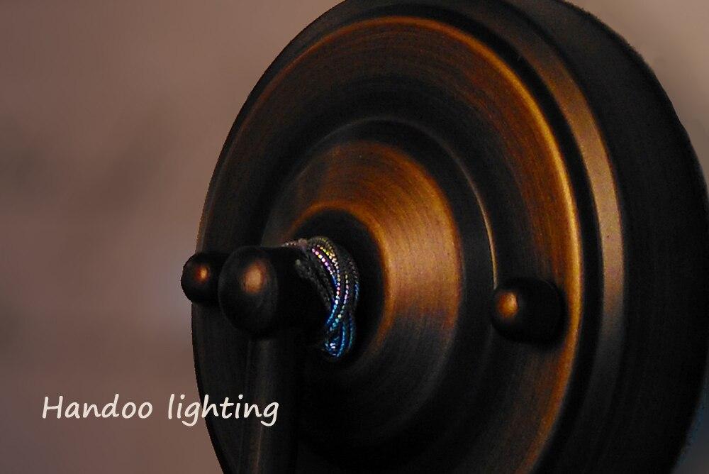 Rustiek Vintage Badkamer : Gratis verzending korte vintage wandlampen wit glas koper kleur