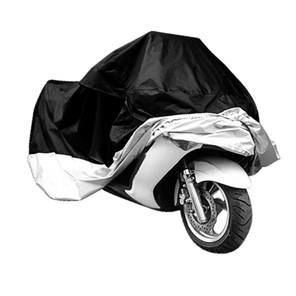 Cubierta protectora impermeable de poliéster para Moto XXL-3XL motos cubiertas moto couverture lluvia UV Prevención del polvo